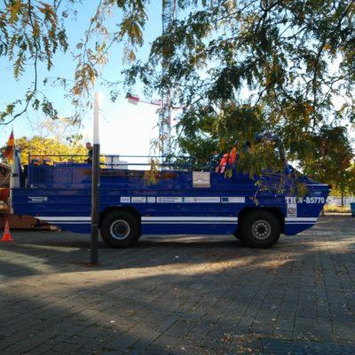 Amphibienfahrzeug : Amélioration de la protection contre les catastrophes par l'acquisition et l'utilisation en commun d'un véhicule amphibie