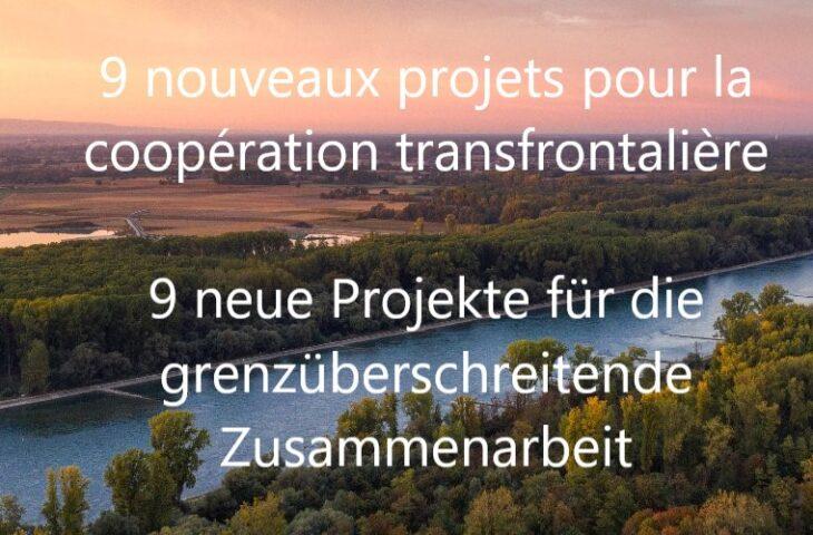 9 nouveaux projets Interreg Rhin Supérieur