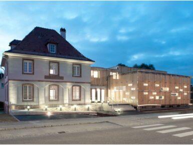 Aménagement et extension du bâtiment de l'ancienne douane à Lauterbourg