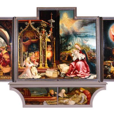 L'art du Rhin supérieur autour de 1500 : étude et diffusion d'un patrimoine commun