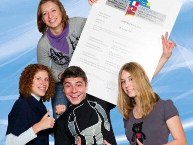 """Qualification transfrontalière dans l'espace du Rhin Supérieur : Certificat """"Euregio"""" pour apprentis, élèves, étudiants et tuteurs de la formation professionnelle"""