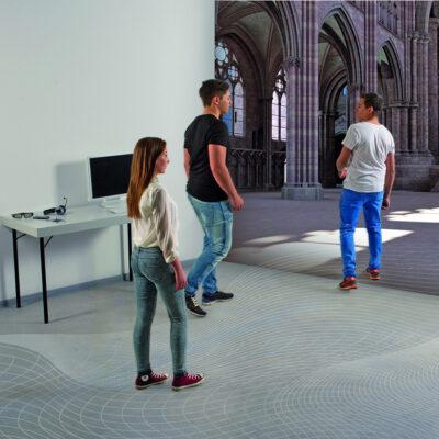 EVEIL 3D – Environnement Virtuel pour l'Enseignement Immersif 3D des Langues étrangères dans la Région Métropolitaine Trinationale du Rhin Supérieur