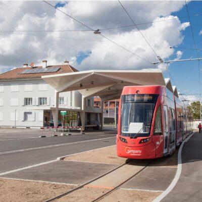 Tram 3: Aménagement du pôle multimodal de la gare de St-Louis dans le cadre de l'extension de la ligne 3 du tramway bâlois