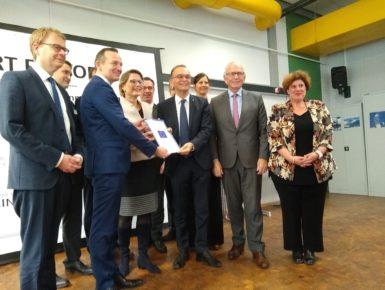 « Smart Factory » : Remise de la notification de cofinancement INTERREG