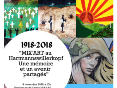 MIX'ART au Hartmannswillerkopf 2018 : ateliers artistiques et citoyens