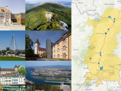 Découvrez les lieux qui font l'histoire d'Interreg dans le Rhin supérieur