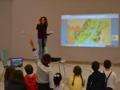Le Passe-Partout - Der Weltenbummler: Les enfants découvrent le Rhin supérieur à l'aide d'un jeu éducatif en ligne