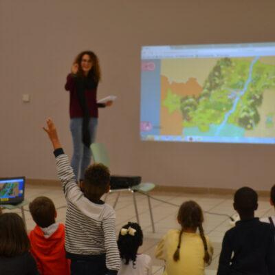 Le Passe-Partout – Der Weltenbummler: Les enfants découvrent le Rhin supérieur à l'aide d'un jeu éducatif en ligne