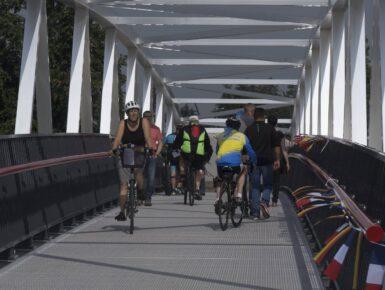 Gambsheim-Rheinau et environs: traversée sécurisée du Rhin pour cyclistes et piétons - connexion transfrontalière nord-sud / est-ouest