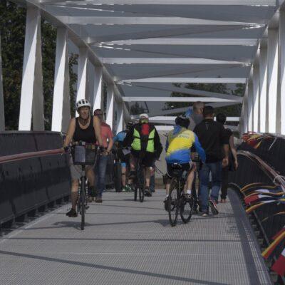 Gambsheim-Rheinau et environs: traversée sécurisée du Rhin pour cyclistes et piétons – connexion transfrontalière nord-sud / est-ouest