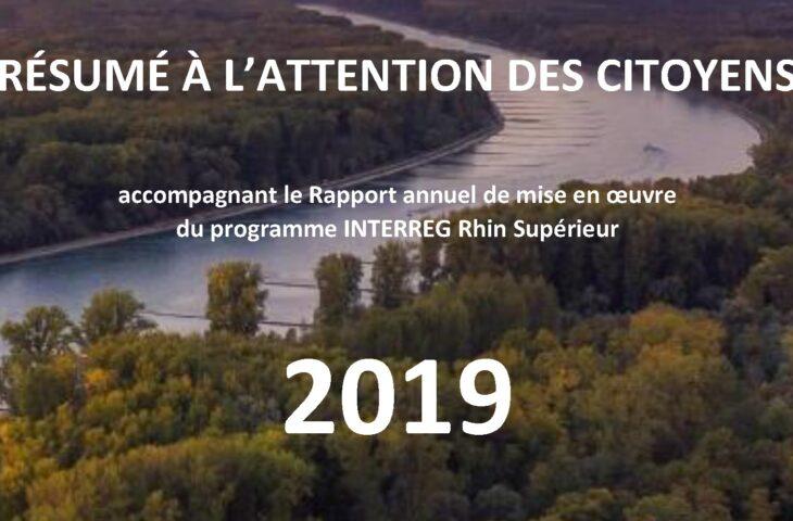 L'année 2019 du programme en résumé